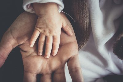 mała dłoń