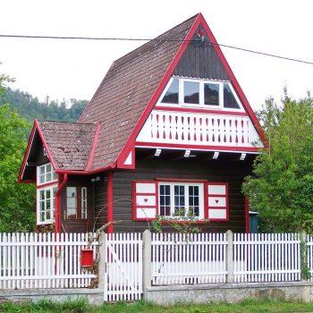 mały dom góralski